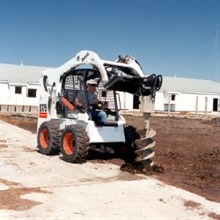 auger, post hole digger