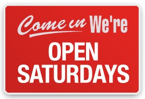 Open Saturday's